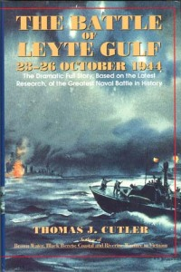 BattleOfLeyteGulfHB 200x300 - The Battle of Leyte Gulf - hardback - By Thomas J. Cutler