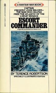EscortComdrPB 181x300 - Escort Commander - paperback - By Terence Robertson
