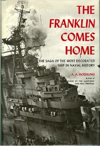 FranklinComesHomeHB 206x300 - The Franklin Comes Home - hardback - By A. A. Hoehling