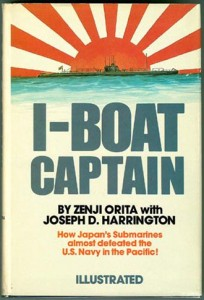IBoatCapt 204x300 - I-Boat Captain - hardback - By Zenji Orita with Joseph D. Harrington