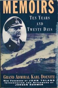 Memoirs IMG 571 200x300 - MEMOIRS: Ten Years And Twenty Days - softbound - By Admiral Karl Doenitz