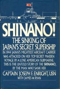 ShinanoHB 204x300 - Shinano! - autographed, hardback - By Captain Joseph Enright