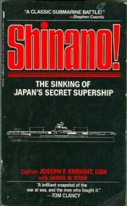 ShinanoPB1 185x300 - Shinano! - paperback - By Captain Joseph Enright