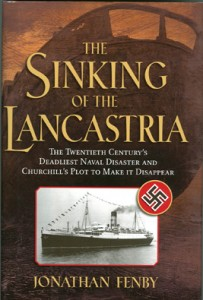 SinkingLancastria 203x300 - The Sinking of the Lancastria - By Jonathan Fenby
