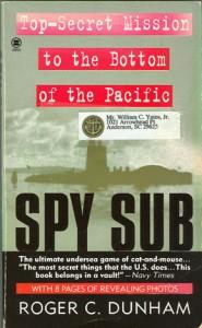 SpySubPB 2 185x300 - Spy Sub - paperback - By Roger C. Dunham