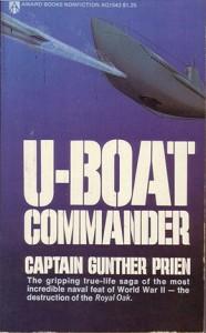 UboatCommander Prien 60 186x300 - Rare Navy Books