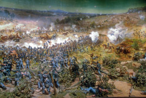 Atlanta Cyclorama Battle Scene 5 300x201 - The Amazing life of Amon Cline - by Rick Cline