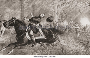 general mcpherson 1864 at the battle 300x196 - The Amazing life of Amon Cline - by Rick Cline