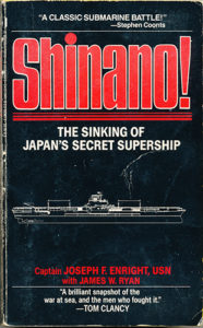 Shinano PB Autographed 1 186x300 - Shinano! - autographed - By Captain Joseph Enright