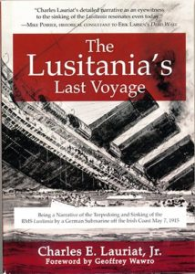Lusitana NewSB A 214x300 - The Lusitania's Last Voyage - By Charles E. Lauriat, Jr.