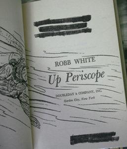 UpPeriscope JR9D7609 1 257x300 - Up Periscope - hardback - By Robb White